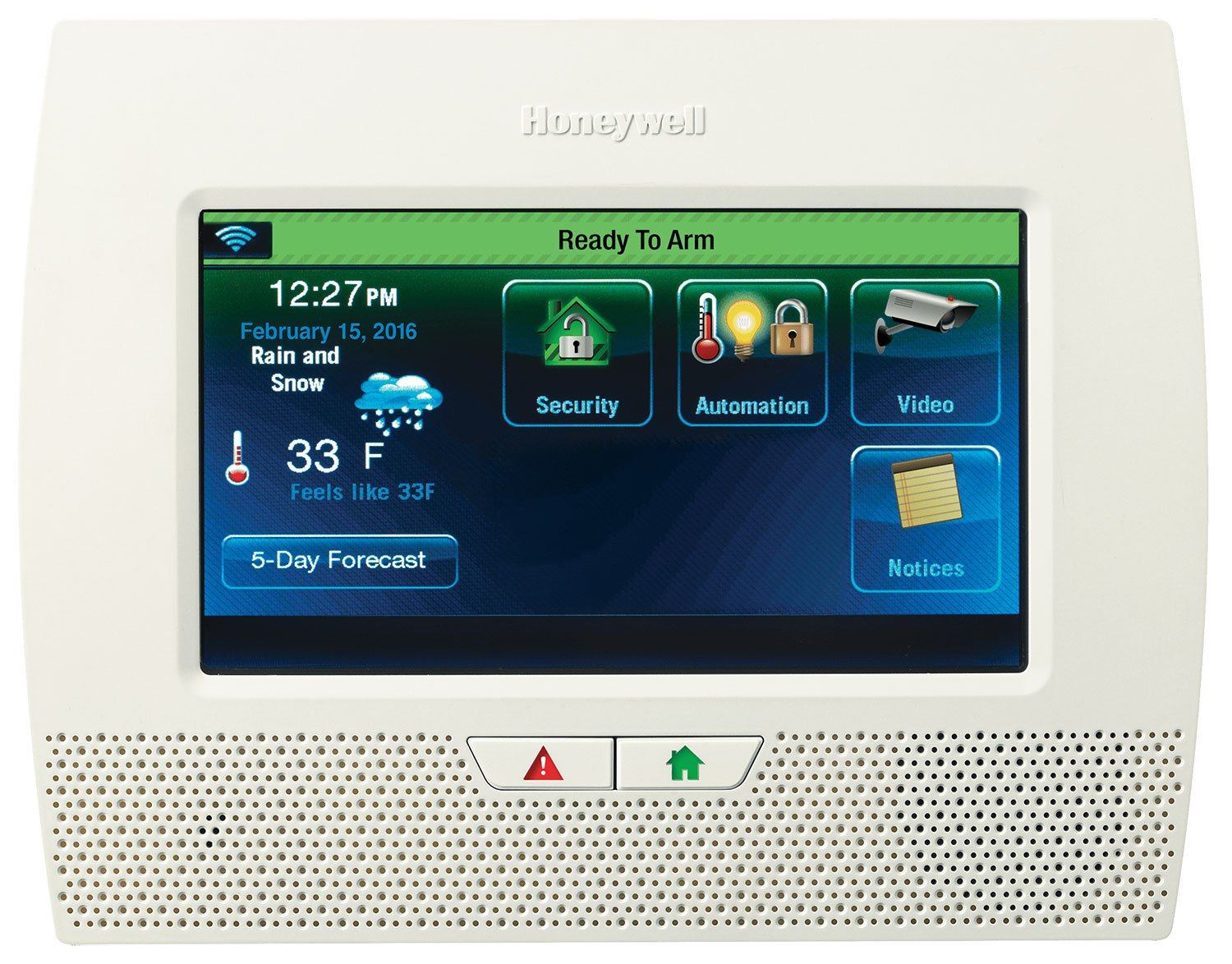 Honeywell automation systems dashboard